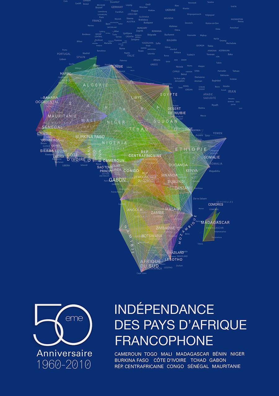 Anniversaire de l'indépendance des pays d'Afrique Francophone